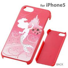 Strapya World : Disney Princess Jewelry Shell iPhone 5 Case (Ariel) on Wanelo