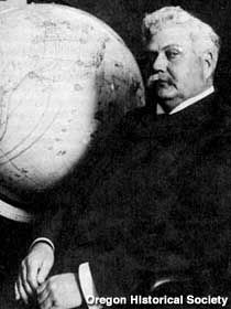 Sam Hill. Helped plan and build scenic Columbia gorge highway in Oregon