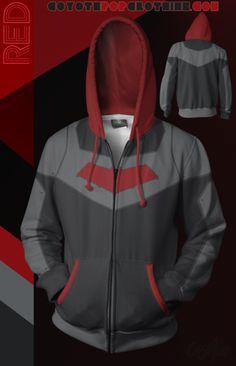 Red Hoodie! Red Hoodie, Hooded Jacket, Athletic, Zip, Hoodies, Jackets, Collection, Fashion, Jacket With Hoodie