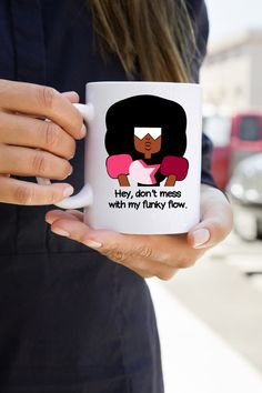 Hey, I found this really awesome Etsy listing at https://www.etsy.com/listing/231358645/free-shipping-garnet-mug-funky-flow