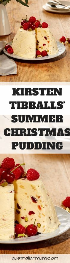 Kirsten Tibballs' Summer Christmas Pudding  This Christmas pudding is a great twist on a classic recipe by Bulla brand ambassador Kirsten Tibballs.