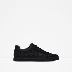 Image 1 of SNEAKERS WITH QUILTED DETAIL from Zara