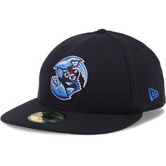 Lakewood BlueClaws Authentic Collection Low Crown On-Field 59FIFTY Home Cap - MLB.com Shop