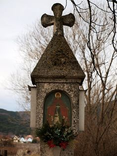 Wayside Shrine near Sooß, Austria