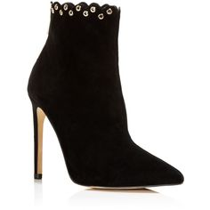 Raye Tetra Scalloped High Heel Booties (835 BRL) ❤ liked on Polyvore featuring shoes, boots, ankle booties, botas, ankle boot, heels, ankle boots, heeled ankle booties, bootie boots and short heel boots