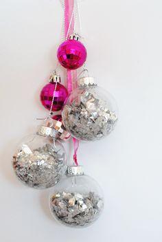 DIY ornament disco balls