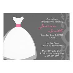Now it's your turn to pop the big question! Ask your girls to be with you on your special day with Modern bridal party proposal cards from Zazzle! Wedding Shower Invitations, Elegant Invitations, Invites, Special Day, Proposal, Rsvp, Wedding Gowns, Elegant Wedding, Party