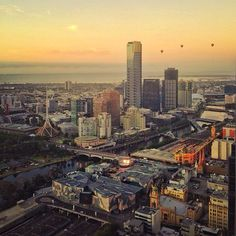 Hot air ballooning over Melbourne, Australia Perth, Brisbane, Melbourne Australia, Melbourne Florida, Destinations, Victoria Australia, Work Travel, Dream Vacations, The Good Place