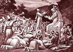 In the Hebrew Bible, Gehenna was a valley by Jerusalem, where apostate Israelites and followers of various Baalim and Caananite gods, including Moloch, sacrificed their children by fire (2 Chr. 28:3, 33:6; Jer. 7:31, 19:2–6).
