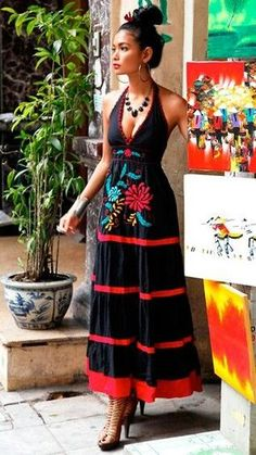 Influencias mexicanas moda