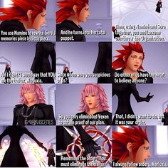 Kingdom Hearts: Re:Chain of Memories better to say: Chain of dramas