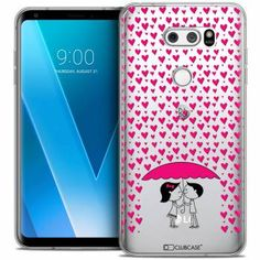 """Coque Crystal Gel LG V30 (6"""") Extra Fine Love - Pluie d'Amour - 7,90 €"""