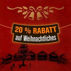 Wir haben für Sie eine Auswahl an #Weihnachtsgeschenken und #Weihnachtsdeko zusammen gestellt & das beste daran, mit dem folgenden #GutscheinCode erhalten SIE auf diese ausgewählten Produkte 20 % #RABATT ... auch auf bereits REDUZIERTE: huk20spw