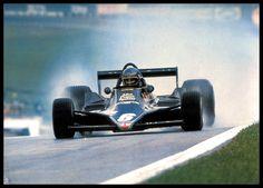 Znalezione obrazy dla zapytania 1974 Lotus 76 - Ford (Ronnie Peterson)