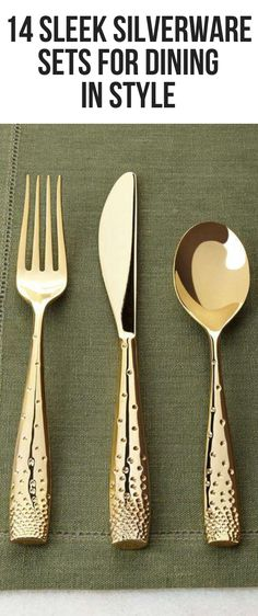 14 Sleek Silverware Sets for Dining in Style  #foodrecipes #campingfood #foodcravings #fourthofjulyfood #foodphotographyparty #foodhealthy #food #fingerfoods #aestheticfood Silverware Sets, Fourth Of July Food, Campingfood, Aesthetic Food, Camping Meals, Food Cravings, Finger Foods, Food Photography, Healthy Recipes