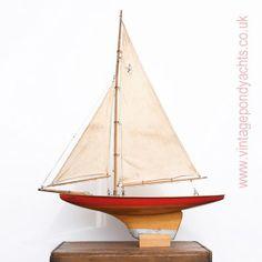 Vintage Star Pond Yacht Planet