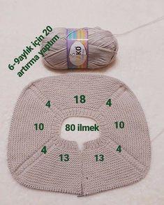 Crochet Baby Sweater Pattern, Baby Sweater Patterns, Baby Cardigan Knitting Pattern, Sweater Knitting Patterns, Baby Knitting, Knit Baby Dress, Crochet Magazine, Crochet Slippers, Baby Sweaters