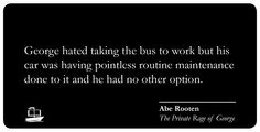 Our interview with Abe Rooten is here: http://readershipbooks.com/Announcement/Details/29