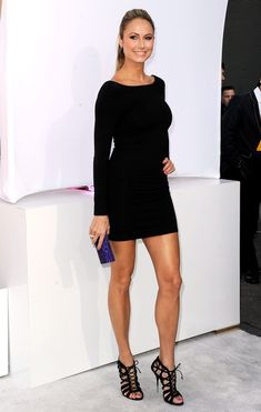 black long sleeve dress!