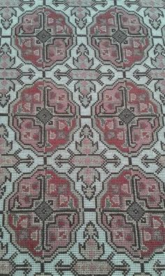 Just Cross Stitch, Counted Cross Stitch Patterns, Cross Stitch Designs, Cross Stitch Embroidery, Stitch 2, Bohemian Rug, Embroidery Designs, Needlework, Diy And Crafts