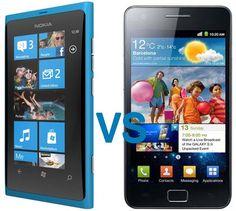 Nokia Lumia vs. Samsung Galaxy