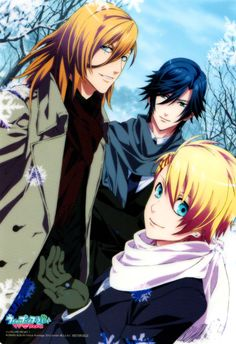 Tokiya, Syo and Ren, Uta no Prince-sama