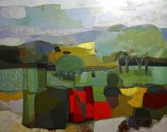 Poppy Field (The South Downs from the studio, Pitshill)