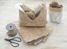Bento Bag aus Milchtüten Upcycling. Mit Garnresten. Bento, Bag Making, Scrap, Reusable Tote Bags, Blog, Paper, Wrapping Gifts, Repurpose, Crafts