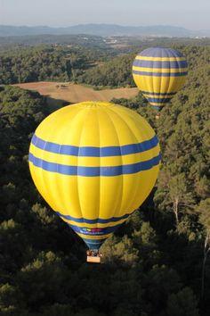 Hot Air Balloon Flight over Catalonia- Barcelona