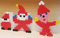 Julpyssel för barn med Nabbi-pärlor - Tomtar