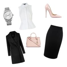 """""""Untitled #25"""" by soukupova-t on Polyvore featuring Alexander McQueen, Alexander Wang, Christian Louboutin, Michael Kors, Calvin Klein, women's clothing, women's fashion, women, female and woman"""