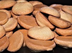Bezlepkové piškoty z pytlíku rýže Crackers, Almond, Paleo, Food And Drink, Homemade, Vegan, Cookies, Vegetables, Sweet