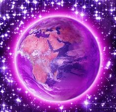 The Violet Flame healing our Earth
