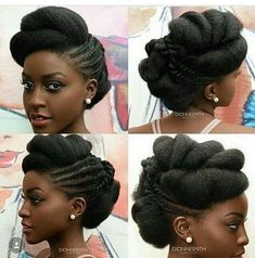 Natural Bridal Wedding Hairstyles – Afrocenchix Best Picture For natural afro hairstyles thin hair F Natural Hair Wedding, Natural Wedding Hairstyles, Natural Afro Hairstyles, Natural Hair Updo, African Hairstyles, Girl Hairstyles, Natural Hair Styles, Black Hair Updo Hairstyles, Afro Hair For Wedding
