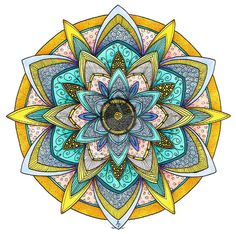Mandala 26 July 2014 by Artwyrd.deviantart.com on @DeviantArt