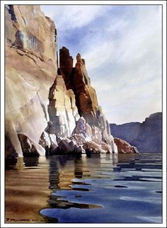 "... "" Watercolor Artist Digital Print by Watercolor Artist David Drummond"