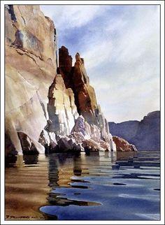 "... "" Watercolor Artist Digital Print by Watercolor Artist David Drummond"