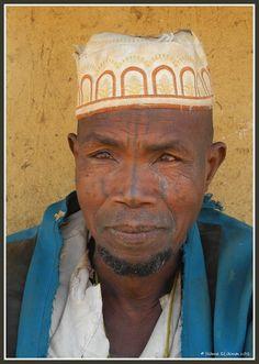 Peul man in Natitingou, Benin
