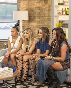 Little Mix on This Morning on 13th of July.