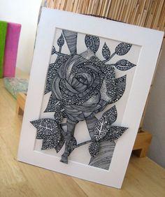 zentangle inspired art craft