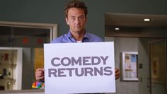 Comedy returns with Go On!