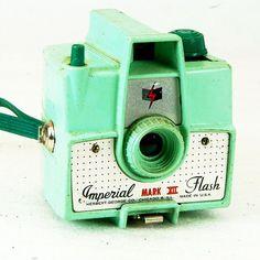 Vintage Camera Imperial Flash Mark XII Camera for 620 by BrassLens, $55.00
