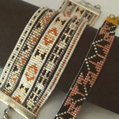 Couleurs d'automne #lookdujour #lookoftheday #bijouxfaitmain #bijoux #jewellery #handmadejewelry #diy #jenfiledesperlesetjassume #perles #perlezmoidamour #miyukibeads #miyuki #beading #beadloom #Strasbourg #beadwork #beads #beaded #beadedjewelry #manchette #handmade #perleaddict #tissage #tissageperles #jonc #bracelet