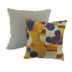 Thanksliving Christmas Decorative Abstract Pattern Pillowcase Cushion Covers 18 x 18 Inch (Set of >>> Check this awesome product by going to the link at the image. (This is an affiliate link) Cushion Covers, Pillow Covers, Abstract Pattern, Christmas Ideas, Cloud, Image Link, Cushions, Throw Pillows, Awesome