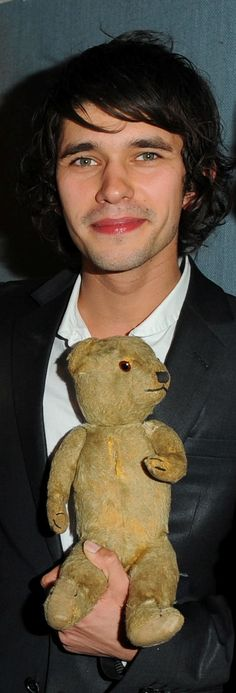 This is presumably Sebastian Flyte's teddy bear from Brideshead Revisited. With Ben Whishaw :)