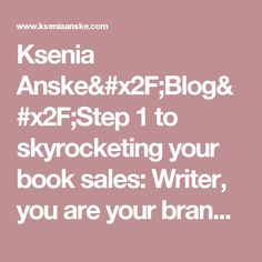 ksenia anske blog how to