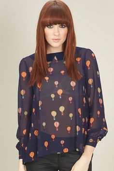 AW13 Up And Away Blouse - Sugarhill Boutique