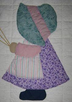Free Sue Bonnet Quilt Patterns | Sunbonnet Sue Balloons Quilt