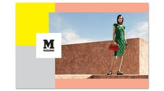 M Missoni Online Boutique - Clothing and Accessories Fashion Advertising, Advertising Campaign, M Missoni, Lookbook Layout, London Photographer, Online Clothing Boutiques, People Photography, Boutique Clothing, Spring Summer