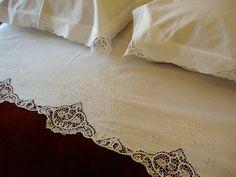 handmade linen for bedding - Google Search